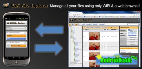 انتقال فایل ها از رایانه به گوشی توسط ...