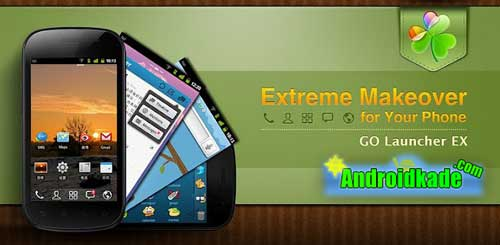 تغییرات اساسی در ظاهر گوشی با آخرین ورژن GO Launcher EX v3.01