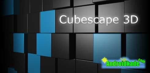 لایو والپیپر زیبای Cubescape 3D Live Wallpaper v1.1.3