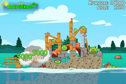 پرندگان خشمگین پیگلانتیس Angry Birds Seasons: Piglantis v2.4.0
