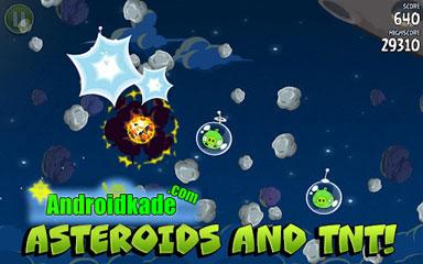 نسخه جدید بازی پرطرفدار و زیبای Angry Birds Space Premium v1.2.1
