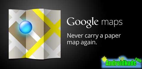 دانلود آخرین نسخه گوگل مپ Google Maps 2012.07.27 + امگان استفاده آفلاین از محدوده های دلخواه
