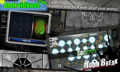 بازی جذاب و ماجراجویی Roombreak Escape Now! HD v1.0.3 + گیم Data