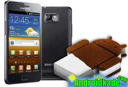 نسخه رسمی اندروید 4.0.3 برای  Samsung Galaxy SII i9100g