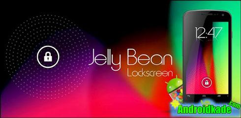 لاک اسکرین فوق العاده زیبای Jelly Bean HD Lockscreen Theme v1.60