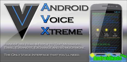 ایجاد فرمان صوتی با Android Voice Xtreme v2.31