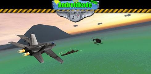 شبیه ساز جت جنگی با Air Navy Fighters v1.1