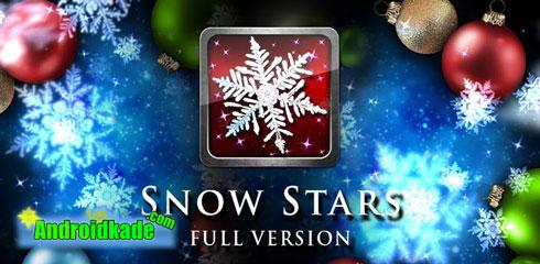 لایو والپیپر زیبای Snow Stars FULL v1.3