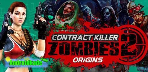 بازی اکشن و فوق العاده زیبای CONTRACT KILLER ZOMBIES 2 v1.0 + دیتا