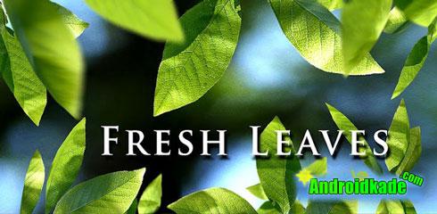 لایو والپیپیر زیبا و دلنشین Fresh Leaves v1.6