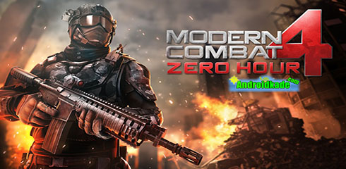 بازی اکشن و فوق العاده Modern Combat 4: Zero Hour v1.0.1 + دیتا