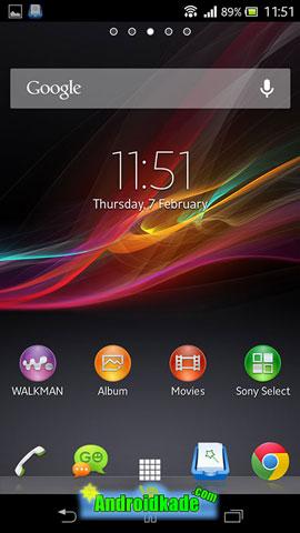 اندروید رسمی 4.1 برای گوشی محبوب Sony Xperia T