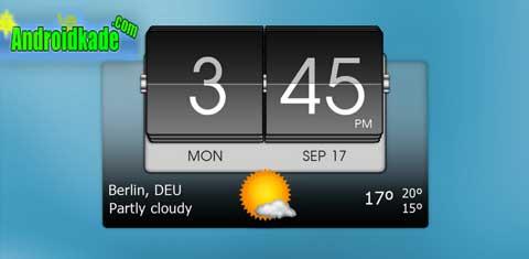 دانلود 3D Flip Clock & World Weather v5.84.8 ویجت آب و هوا برای اندروید