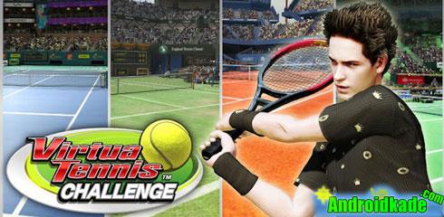 دانلود Virtua Tennis Challenge 1.4.5 بازی تنیس با گرافیک فوق العاده + دیتا
