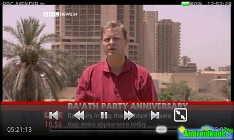 تماشای فایل های ویدویی و تلویزیون آنلاین با Daroon Player v1.2.0